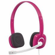 Logitech H150 Stereo Headset - Pink