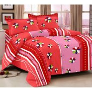 Storyathome 100% Cotton Double Bedsheet With 2 Pillow Cover-MG1438