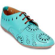 Meriggiare Pu Green Casual Shoes -Mgfb1032H