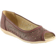 Meriggiare Artificial Leather Maroon Bellies -Mgfi4508M