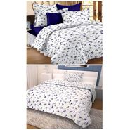 Storyathome 100% Cotton Double Bedsheet & 1 Single Bedsheet With 3 Pillow Cover -MG_1059-FY1417