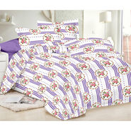 Valtellina Double Bed Sheet with 2 Pillow Cover-MO-110