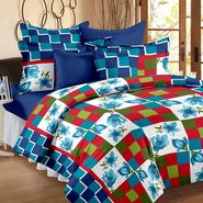Storyathome 100% Cotton Double Bedsheet With 2 Pillow Cover-MP1201