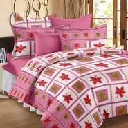 Storyathome 100% Cotton Double Bedsheet With 2 Pillow Cover-MP1214