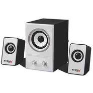 Zebion Muze Maxi 2.1 Speakers (Black & White)