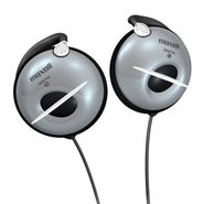 Maxell EC-450 Wired Headphone - Silver