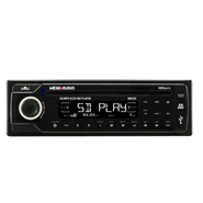 MegaAudio MAU35 Single Din CD/SD/USB Player for Car