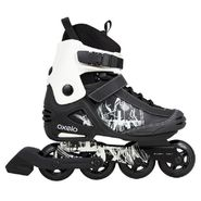 Oxelo Freeride Black Skate Rollers - 5.5 UK