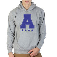 Printland Full Sleeves Cotton Hoodies_Pg1125 - Grey
