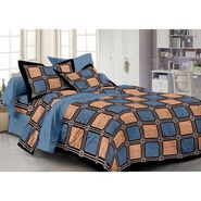 Storyathome 100% Cotton Double Bedsheet With 2 Pillow Cover-PL1107