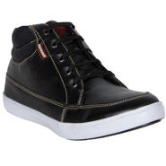 Provogue Black Sneakers Shoes -yp87
