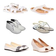Pack of 6 All Occasion Footwear for Women  -ts03