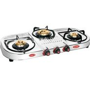 Padmini CS-306 HF Stainless Steel Cooktop - Silver