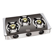 Padmini CS-3GT Jalwa Glass Cooktop - Black