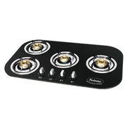 Padmini CS-402 GL-IB Glass Built in Hob - Black