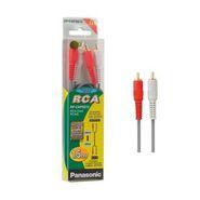 Panasonic RP-CAP3G15GK RCA Stereo Audio Cable - Set of 2
