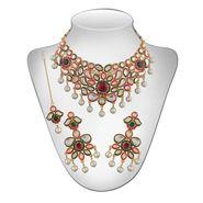 Panini Alloy Necklace Set - Multicolour _ 2510