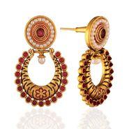 Panini Designer Dangle Earrings - Multicolour _ F-212