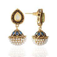 Panini Designer Dangle Earrings - Multicolour _ F-06