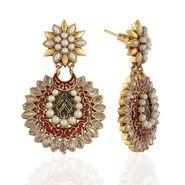 Panini Designer Dangle Earrings - Multicolour _ F-225