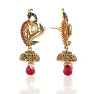 Panini Designer Dangle Earrings - Multicolour _ F-313