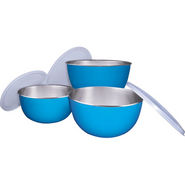 Pogo Exxon Storage Bowl 3 Pcs Set (Microwave Safe)