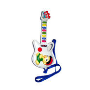 Prasid Musical Guitar with 8 Sounds - White