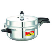 Prestige Deluxe Plus Aluminium Senior Pressure Pan with Lid (Induction Based)