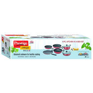 Prestige Omega Deluxe Non-stick Cookware Kitchen in a box sets (6pcs set)