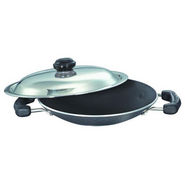 Prestige Non Stick Omega Select Plus Appachetty 200 mm with SS Lid