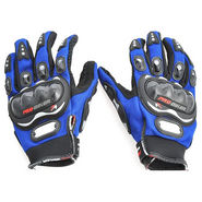 Pro Biker Gloves Full - Blue
