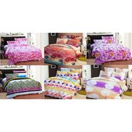Bellamata Multicolor Print 6 Double Bedsheet With 12 Pillow Covers -RMC20