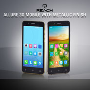Reach Allure 3G Mobile with Metallic Finish