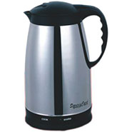 Signoracare SCEK-908 1.5 Ltr Electric Kettle - Black and Silver