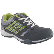 Branded Mesh Sports Shoes Sup5022 -Grey