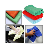 Set of 3 Microfiber Dry Wet Polishing Cloth