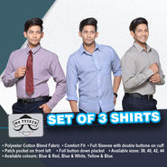 Set of 3 Shirts from Mr. Tusker