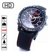 Being Trendy HD Rubber Strap Sports Watch Camera