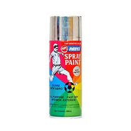 Abro Colour Spray Paint ( 400ml, Bright Chrome )