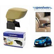 Speedwav Car Armrest Console Beige Color- Chevrolet Beat