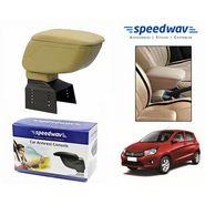 Speedwav Car Armrest Console Beige Color- Maruti Celerio