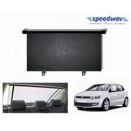 Speedwav Car Rear Window Roller Sunshade 90cm Black- Volkswagon Polo