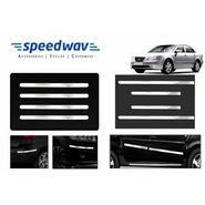 Speedwav Full Chrome Bumper Protector+ Side beading-Hyundai Sonata Embera