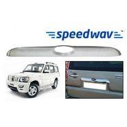 Speedwav Mahindra Scorpio Chrome Rear Garnish
