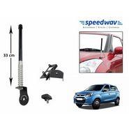 Speedwav Car Front/Rear Stylish VIP Antenna Black-Maruti Alto 800
