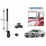 Speedwav Car Front/Rear Stylish VIP Antenna Black-Toyota Corolla