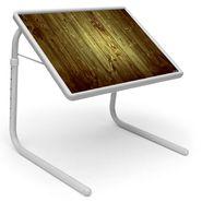 Shoper52 Designer Portable Adjustable Dinner Cum Laptop Tray Table-TABLE062