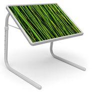 Shoper52 Designer Portable Adjustable Dinner Cum Laptop Tray Table-TABLE077