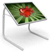 Shoper52 Designer Portable Adjustable Dinner Cum Laptop Tray Table-TABLE096