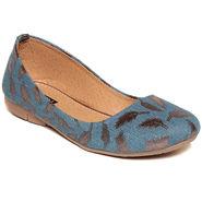 Fabric Blue Bellerinas -551Blu01